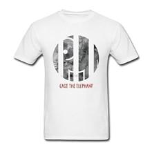 Cage The Elephant Men/'s Black Long Sleeve T-Shirt Size S-3XL