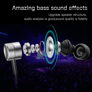 Image 2 - Beaseus Wired Bass Sound Earphone for Phone In Ear Stereo Sound Headset Earphone High quality for xiaomi iPhone Samsung Earpiece