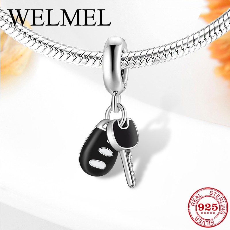 5PCS Wholesale red Charms Beads Necklace European charm Bracelet Chain N#719