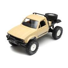 WPL C14 2.4Ghz RC Car 1:16 Four Wheel Drive Remote Control Car Rock Crawler KIT Model RC Vehicle Toys for Children
