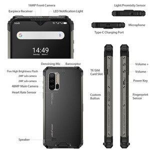 Image 2 - Wersja globalna osłona Ulefone 7E Smartphone 4GB + 128GB wytrzymały telefon komórkowy wodoodporny IP68 Android 9.0 Octa Core NFC bezprzewodowy OTG