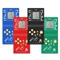 Портативный игровой плеер Tetris с ЖК-дисплеем, электронные игрушки, Карманная игровая консоль, классическое детство, подарок