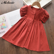Melario Girls Dress Summer Casual Short Sleeve Princess Dresses
