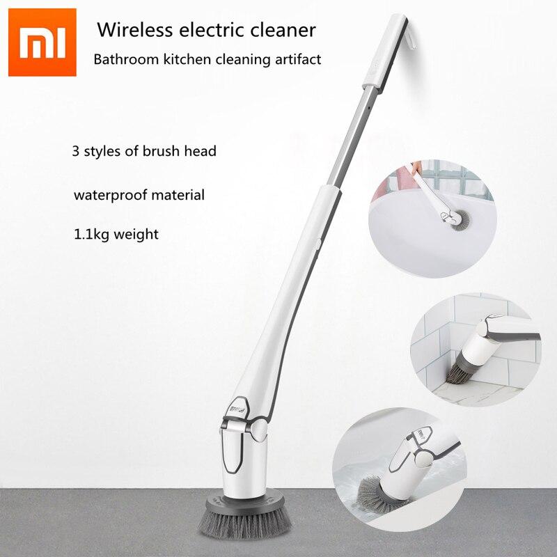 Оригинальный Xiaomi беспроводной электрический триммер для ванной комнаты кухня Чистящая артефакт легкий и водостойкий очиститель