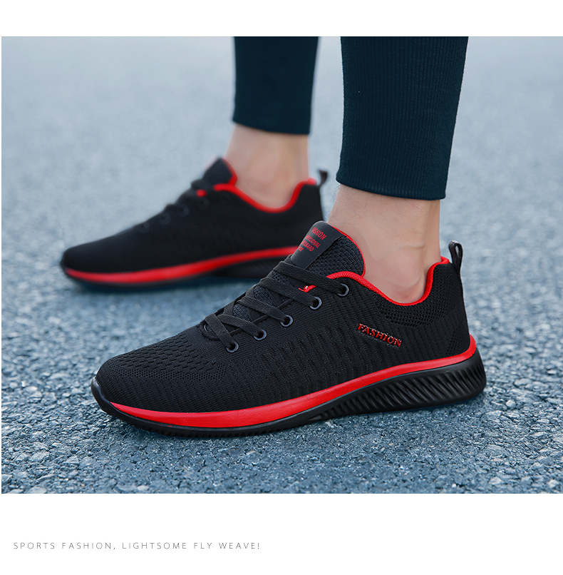 H894c4274d3e749088f2e5f890c1aa44fR New Mesh Men Casual Shoes Lac-up Men Shoes Lightweight Comfortable Breathable Walking Sneakers Tenis masculino Zapatillas Hombre