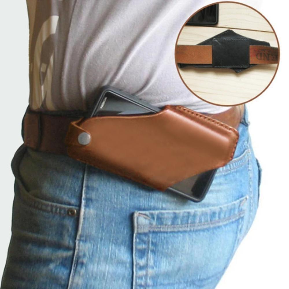 Hakiki deri bel çantası erkekler bel paket bel çantası fanny paketi bel çantası erkek için zincir bel çantası telefon kılıfı için