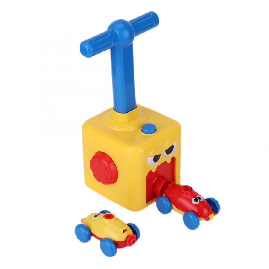 Инерция воздушный шар автомобиля образовательная игрушка для научного эксперимента инерционная мощность воздушный шар автомобиль игрушк...