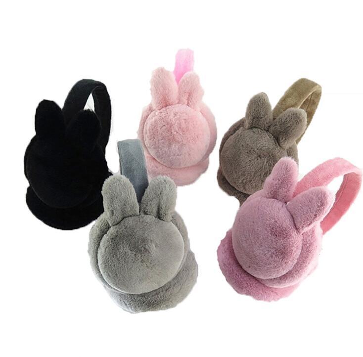 NEW XPLD-Girls'Plush Birthday Gift With Plush Heating Earmuffs In Winter