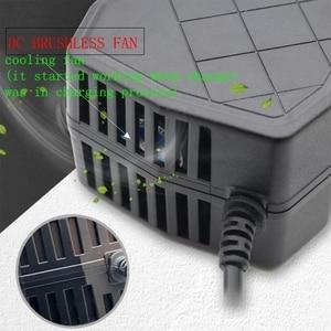 Image 3 - 60V 20AH Voeding Adapter Smart Elektrische Fiets Motorfiets Lader Oplaadbare Loodaccu Lader Dc 74V 3A us/Eu Plug