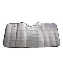 Auto srebrna perła bawełna osłona przeciwsłoneczna przednia szyba samochodu śnieg parasol przeciwsłoneczny wodoodporny ochraniacz pokrywa samochodów przednia szyba pokrywa tanie tanio CN (pochodzenie) Pearl Cotton Front Windshield Sun Shade Sun Visors