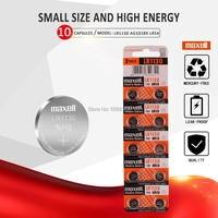 10 ピース/ロットためマクセル 1.5V AG10 LR1130 コイン電池バッテリー LR 1130 アルカリ AG10 389 LR54 SR54 SR1130W 189 LR1130 ボタン -