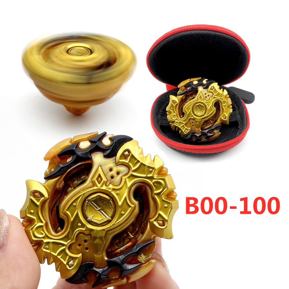 Beyblade Burst B129  Gold Edition Metal Rotate Without Launcher Box Toy