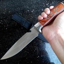 Cuchillos tácticos de hoja fija, herramientas de rescate de supervivencia, cuchillos de caza resistentes a la corrosión, herramienta de combate al aire libre, 2019