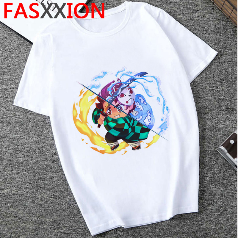 H894da0865ded42bd86bf0f7240e26ce45 - Demon Slayer T-shirt  Graphic Tees Men Streetwear  Japanese Anime Cool Tshirt Funny Cartoon Kimetsu No Yaiba T Shirt Male