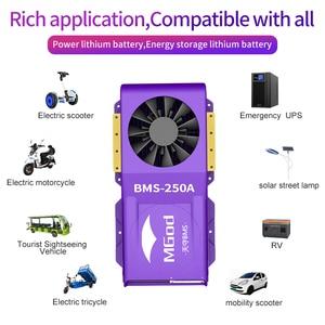 Image 3 - LiFePo4 4S inteligente BMS 3S 24S, batería de litio para exteriores, emergencia, hogar, con ventilador, Bluetooth, balance PCBA, 8S, 16S