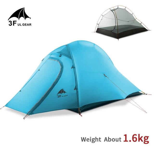 3F UL GEAR 15D Tent 2 Persons Ultralight Double Layer Waterproof 5000mm  3