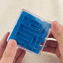 3D лабиринт Кубик Рубика для школьников, подарок для детей, развивающая игрушка для родителей и детей 4-10 лет, игра в рулоне, мяч