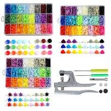 T5 Snaps Botões De Plástico com Snaps Alicate Definido para Roupas de Costura, Babadores Para Bebês, chuva Casaco de Elaboração-Ferramentas Artesanais DIY (Floral Organizador)