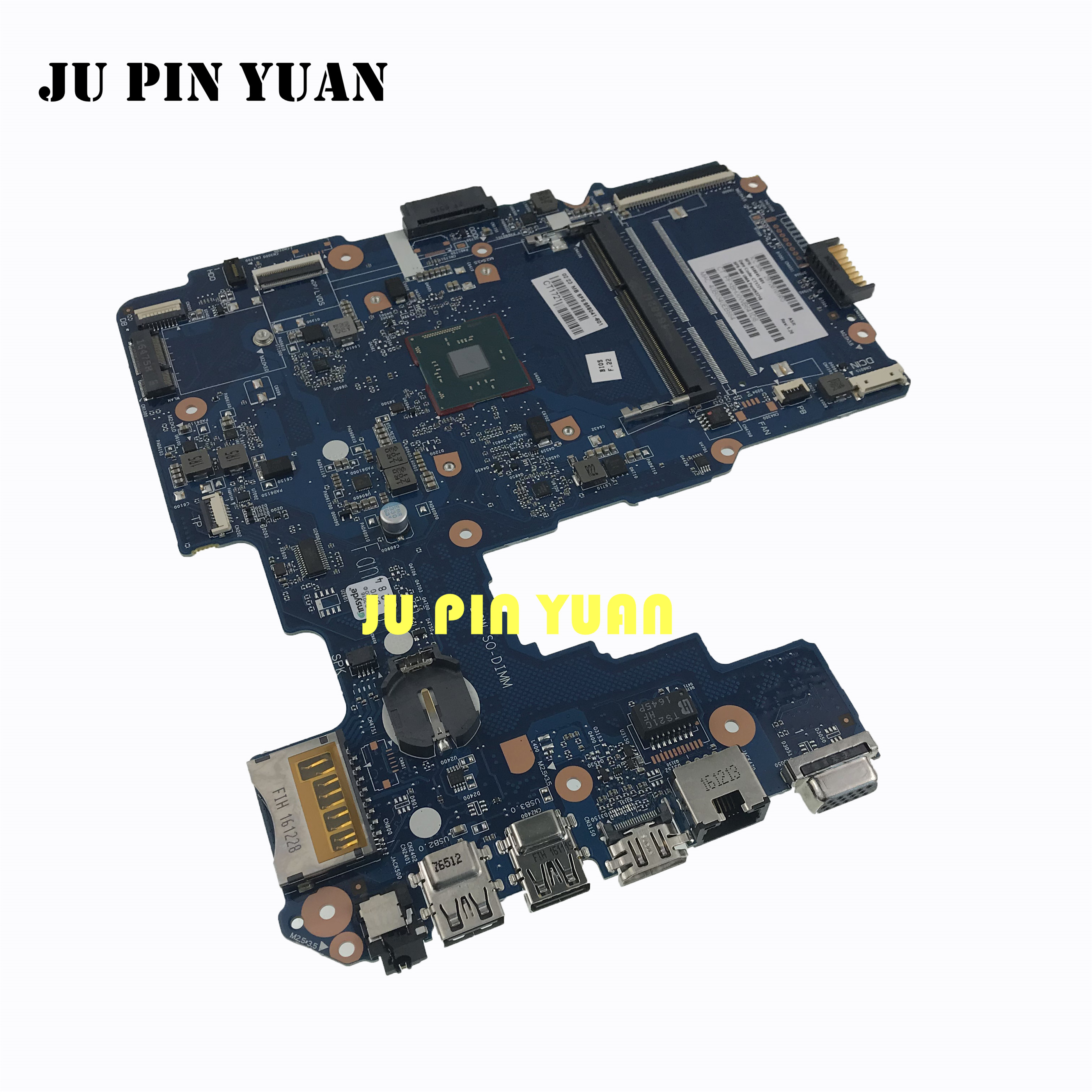 858041-001 858041-601 For <font><b>HP</b></font> Pavilion 240 <font><b>G5</b></font> 14-AM Laptop <font><b>Motherboard</b></font> DINERINL-6050A2823301-MB-A01 with N3710U all fully Tested image