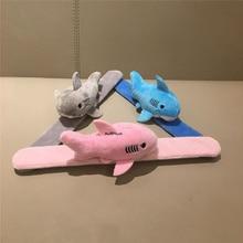 3 цвета, маленькая длина 7 см. Набивная плюшевая игрушка Акула кукла, пояс животное брелок подарок