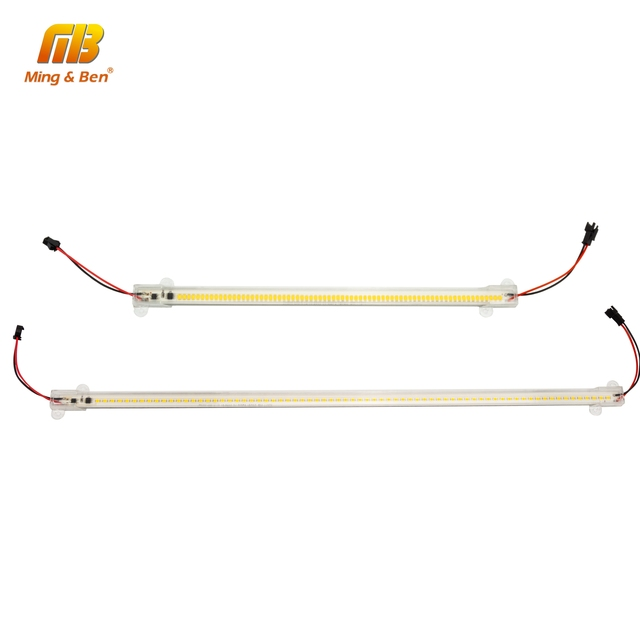 5 unidades/lote de tubos LED SMD2835, 220V, 72LED, carcasa transparente de color blanco lechoso, 30cm, 50cm, luz de cultivo blanco frío y cálido para iluminación interior