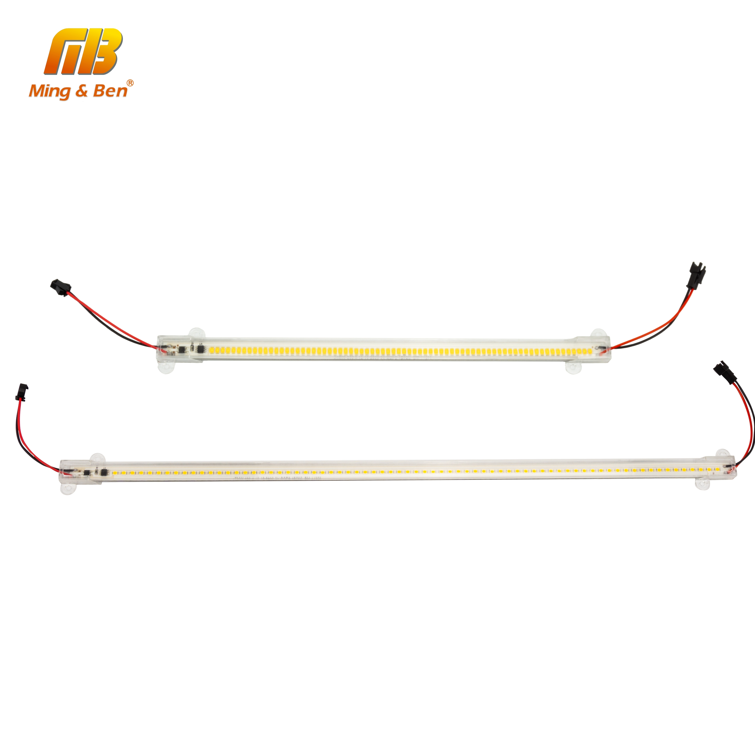 5pcs/lot SMD2835 LED Tube 220V 72leds Clear Shell Milky White Shell 30cm 50cm Cold Warm White Grow Light For Indoor Lighting
