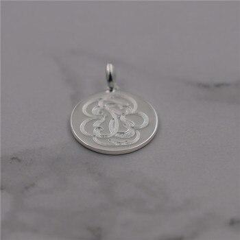 Plata esterlina 925 puro colgante para las mujeres joyería fina collares de piedras naturales mujer con palo de plata de ley 925