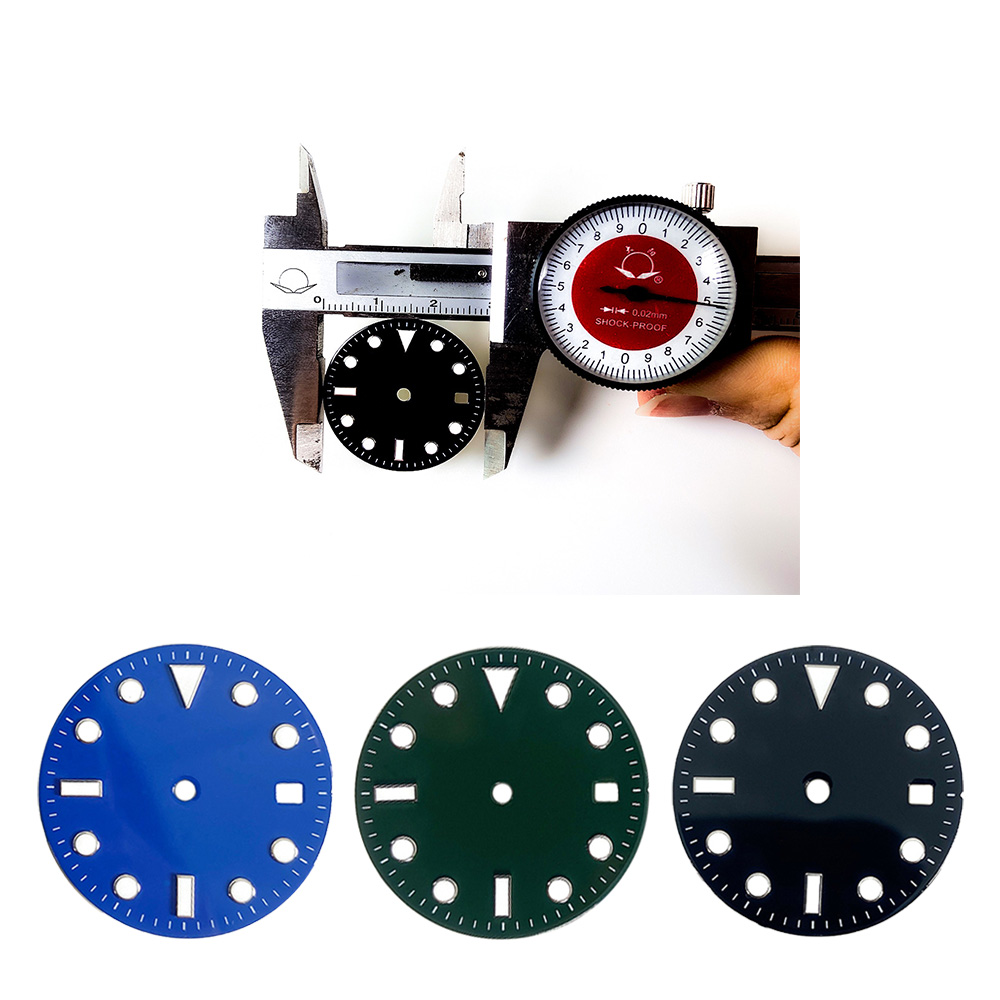 28.5mm Watch Face Accessories For Rolex RLX 8215 Mingzhu 2813 2836 8200 Mechanical Movement