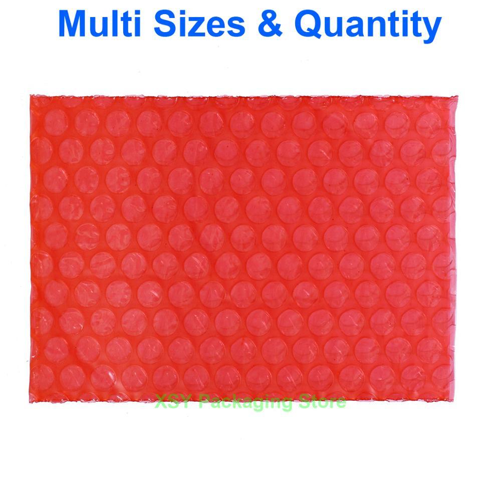 """Разные размеры антистатические Пузырьковые пакеты электронная упаковка (ширина 2,5 """"-6,7"""") x (длина 3 """"-8,7"""") эквалайзер. (65-170 мм) x (75-220 мм)"""