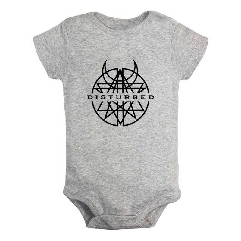 Verstoord Nu Rock Band NEMEN TERUG Zondag Pasgeboren Baby Jongens Meisjes Outfits Jumpsuit Print Baby Bodysuit Kleding Katoen Sets