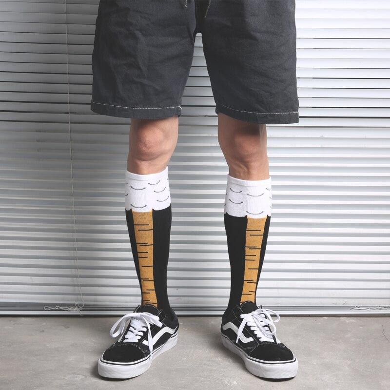 Прямая поставка, короткие носки, модные носки до середины колена, забавный куриный ЧОК, Цыпленок, петух, петух, барабанная палочка, ножки, ног...