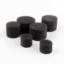 100 шт. черная губка для корыта Гидропоника блок клонирования воротник Aquaponics сетчатый горшок губка анти-альга 4 размера
