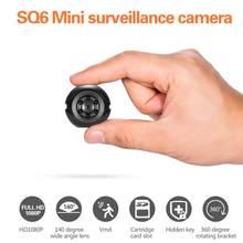 Mini câmera menor 1080p hd câmera de visão noturna infravermelha micro cam detecção movimento esporte dv oculto câmera segurança