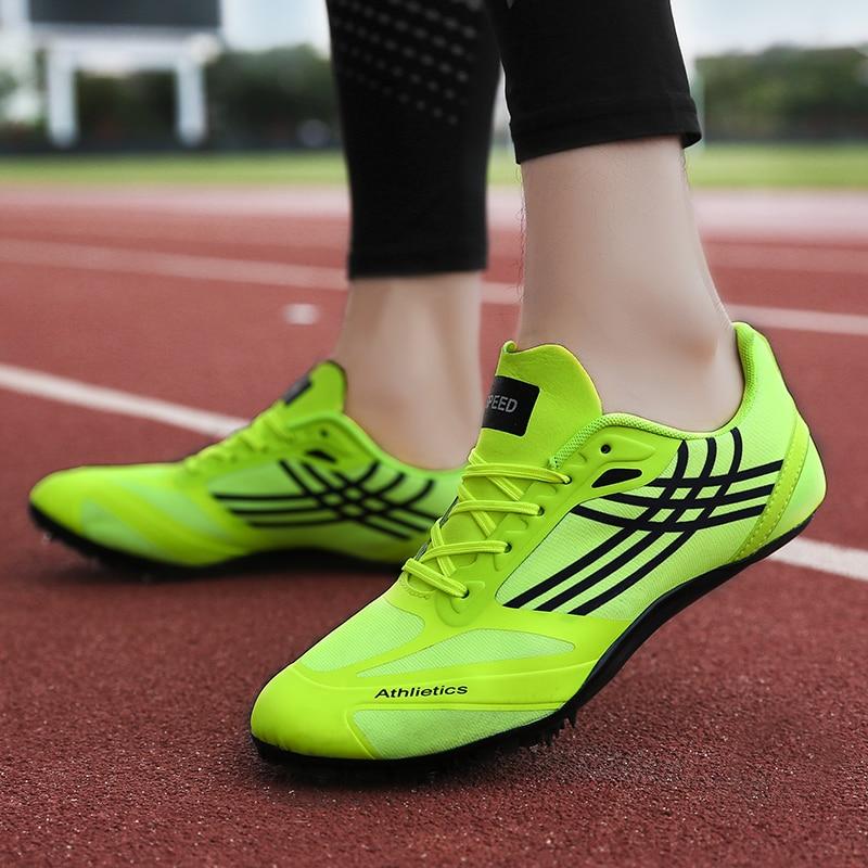 New Unisex Track Shoes Women Rubber