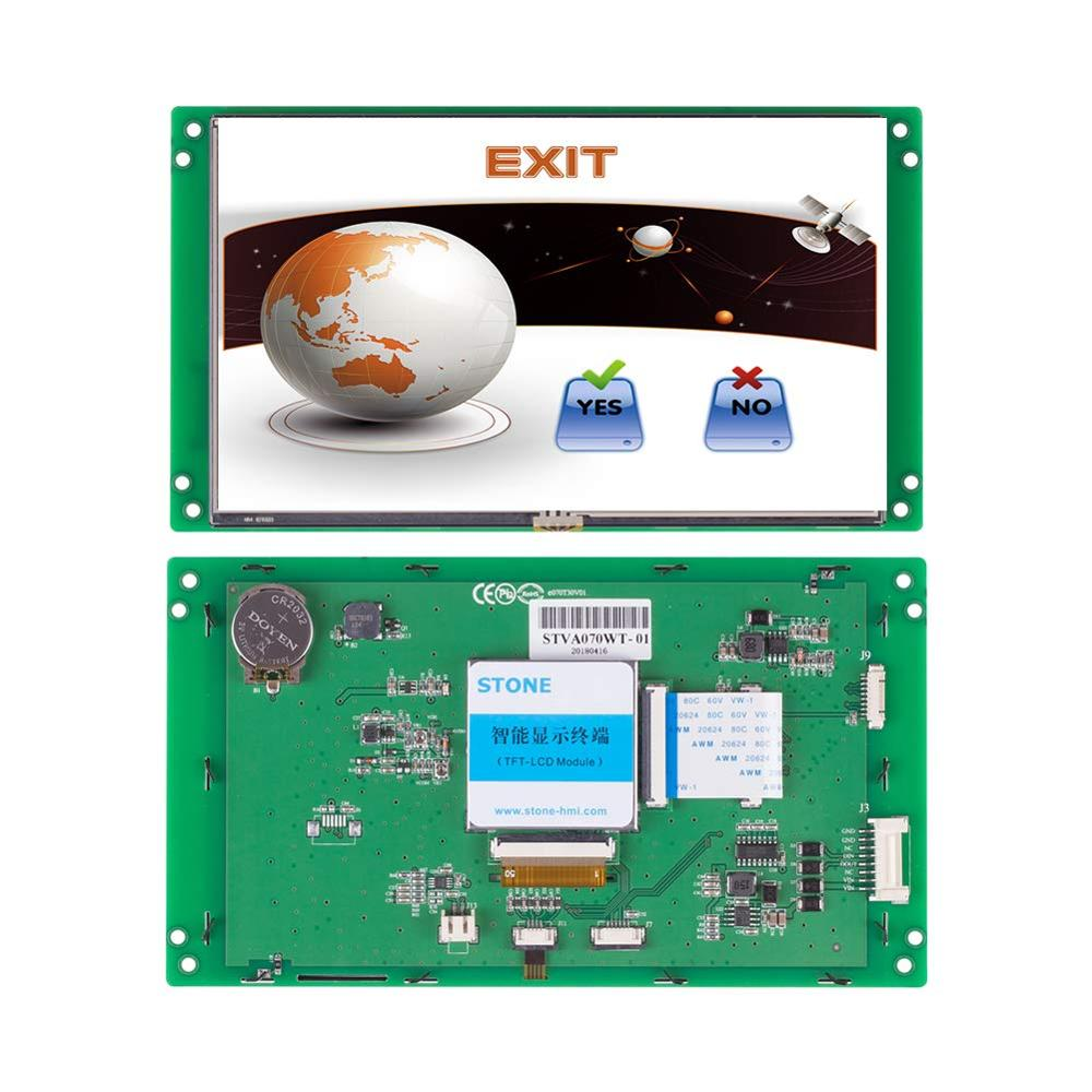 Programmable Touch Display Panel 7.0 Inch TFT LCD Module Support Any Microcontroller 100PCS
