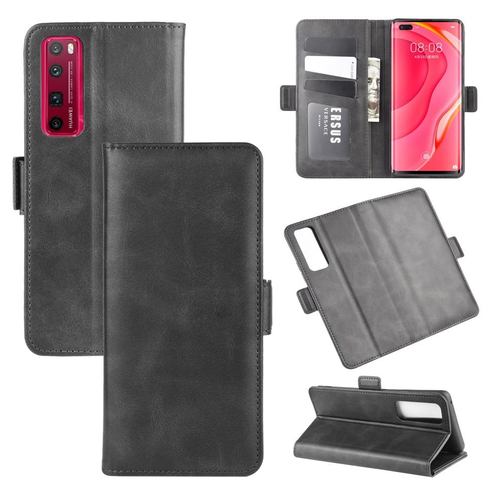 Case For Huawei Nova 7 Pro Leather Wallet Flip Cover Vintage Magnet Phone Case For Nova 7 Pro Coque