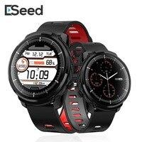 ESEED men Smart watch L5 plus L3 IP68 waterproof full touch screen long standby smartwatch Heart Rate Weather PK honor watch