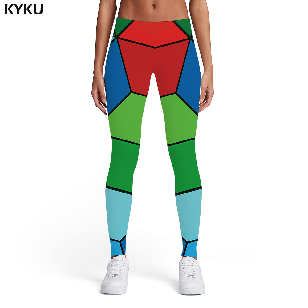 KYKU Customize Your Photo Leggings Women Customer Picture Custom Casual Pants Hip Hop Womens Leggings Summer DIY