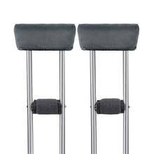 Healifty 4pcs Crutch Pads Universal Underarm and Hand Grip Padding for Arm Crutches Elastic Walking Stick Sponge Pads