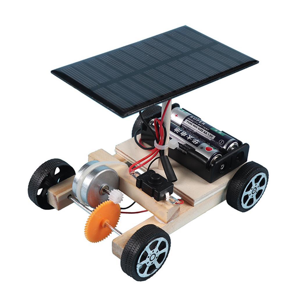 Voiture solaire jouets Robot Kit bricolage assembler ensemble de jouets solaire alimenté voiture Kit éducatif Science jouets pour garçons filles Robot Kit voiture Robot