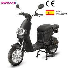 Motocicleta elétrica de alta velocidade do motor elétrico do scooter da bateria de lítio do scooter de ebicycle