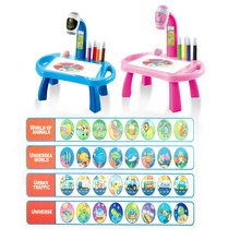 Drawing Table Painting-Set Projector Educational-Toy Gift Kids for Led