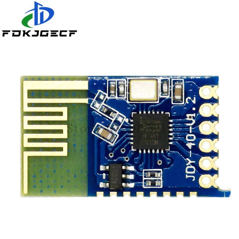 JDY-40 2,4G беспроводной последовательный порт передачи трансивера и модуль удаленного общения супер NRF24L01