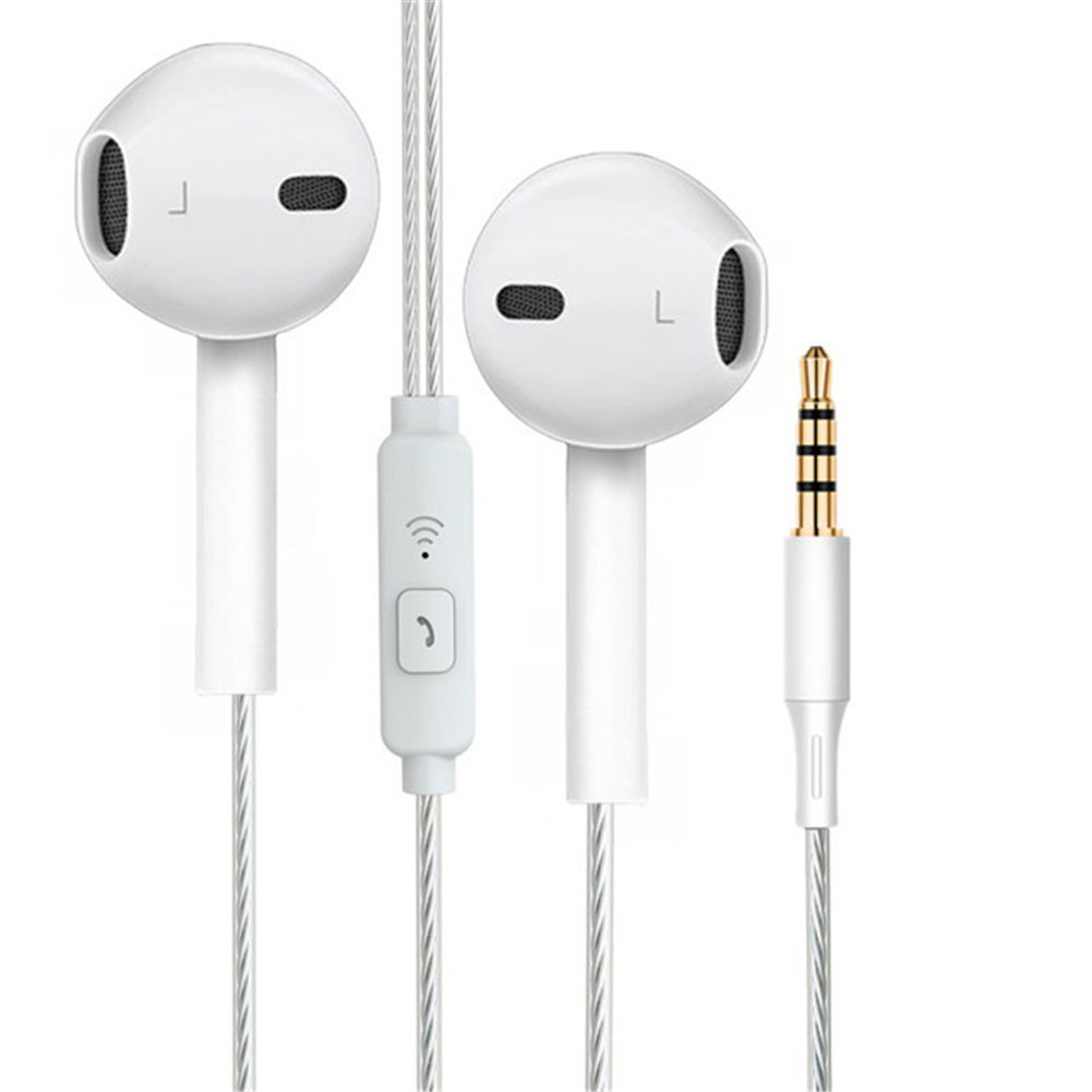High Bass Headsets 3.5mm Stereo In-Ear Wired <font><b>Gaming</b></font> <font><b>Earphone</b></font> <font><b>With</b></font> <font><b>Microphone</b></font> Universal Music <font><b>Earphone</b></font> for Android Mobile Phone image