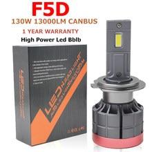F5D 130W 13000LM H4 9005 9007 H11 h13 H7 LED Phares Ampoule Antibrouillard H7 H11 H8 9005 9006 H1 880 Phare de voiture LED LED Phare Kit h7 led