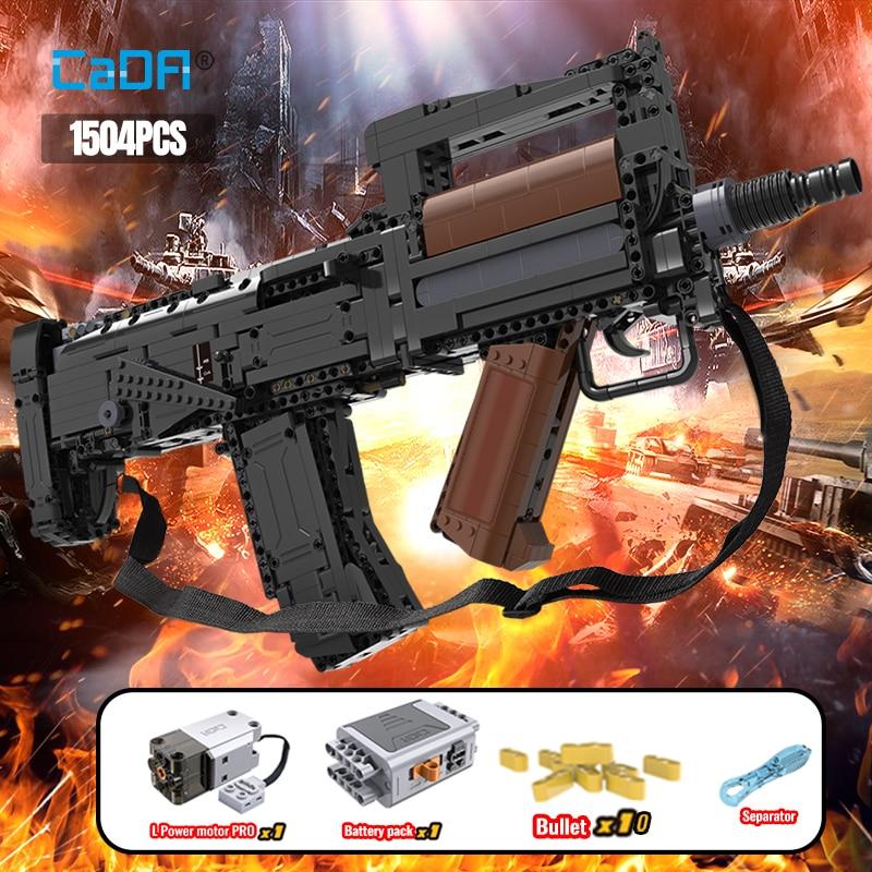 Cada C81022W Electric Groza Assault Rifle
