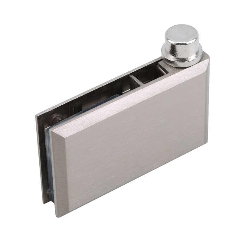 ثنائي كليب المنزل سهلة التركيب الزجاج المشبك الزنك العملي دائم خزانة الباب المفصلي أثاث الحمام خزانة
