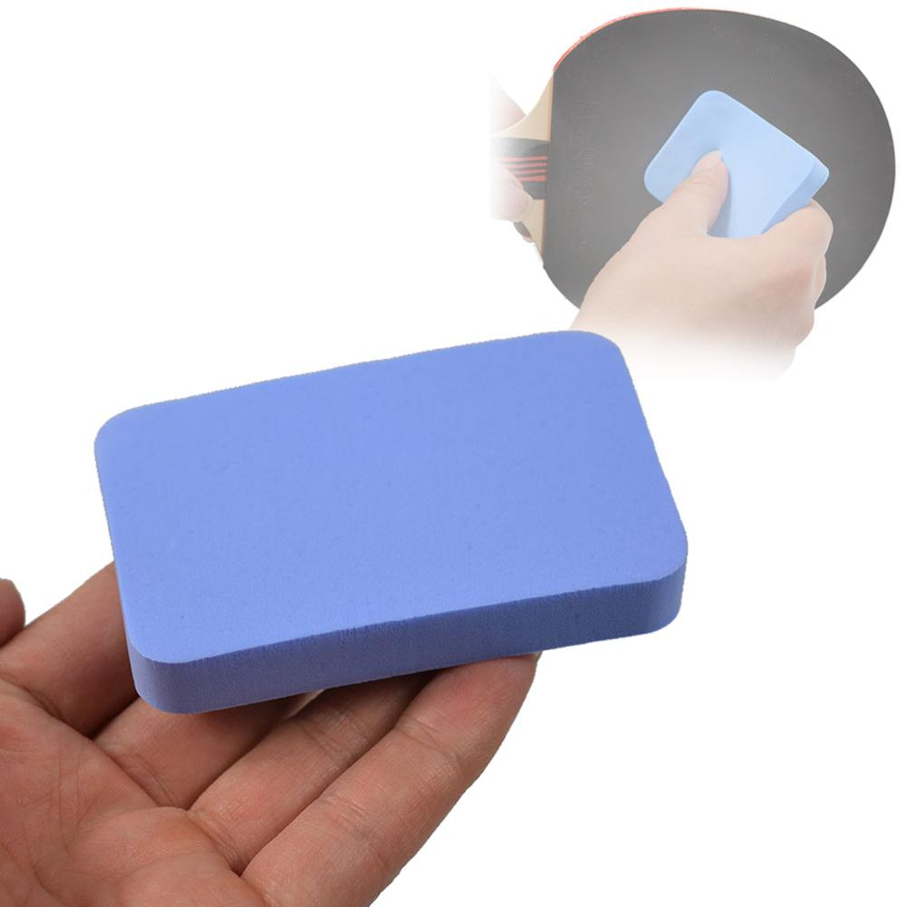 Blue Table Tennis Racket Rubber Cleaner Table Tennis Care Rubber Cleaning Sponge