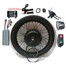 Conversion-Kit Bike 8000W Electric-Bicycle 700C 1500W Rear-Motor-Wheel 60V 72V 18-29inch