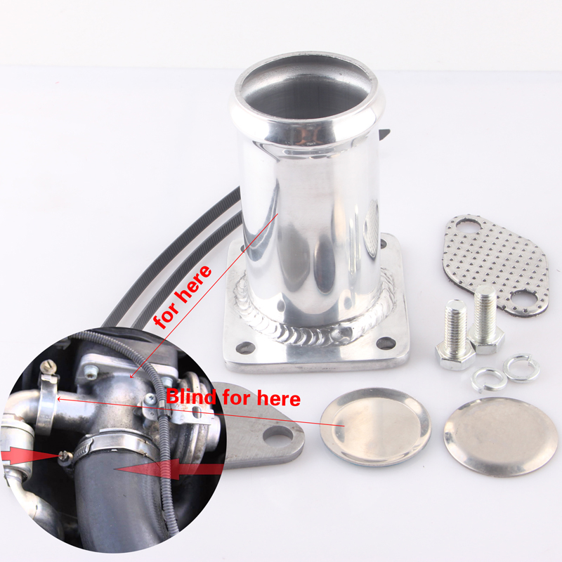 ALUMINUM EGR REMOVAL KIT BLANKING BYPASS FOR BMW E46 318d 320d 330d 330xd 320cd 318td 320td